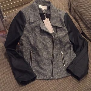 Daniel Rainn Jackets & Coats - Daniel Rainn black and grey jacket